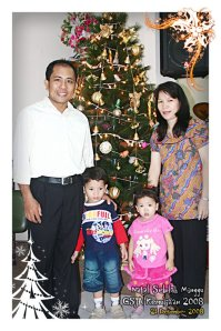 Edwin Paendong Family, Family