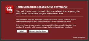Situs Penyerang, Ziddu.com,